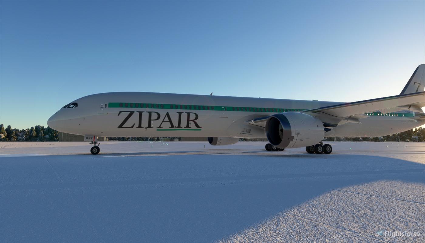 ZIPAIR Boeing 787-10 [4K] Flight Simulator 2020