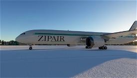 ZIPAIR Boeing 787-10 [4K] Image Flight Simulator 2020