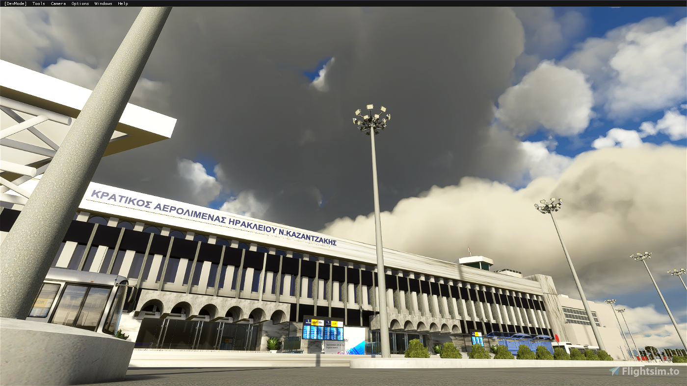 LGIR V1.1 - HERAKLION AIRPORT N.KAZANTZAKIS - CRETE Flight Simulator 2020