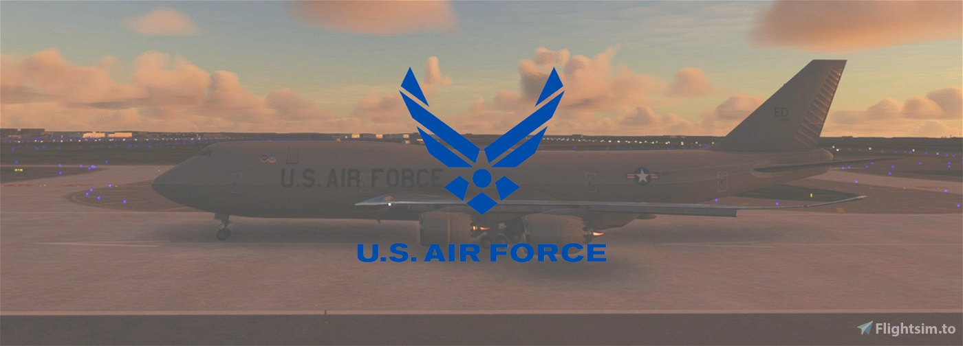 USAF 747-8i (00-0001) Flight Simulator 2020