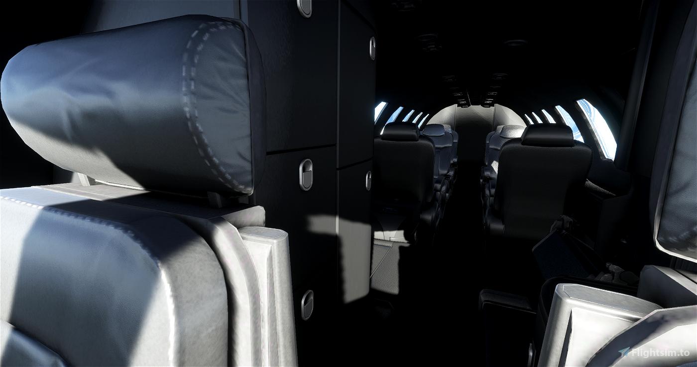 CJ4 Gunmetal Livery with dark interior