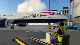 A321 British Airways [8K/4K] Image Flight Simulator 2020