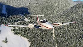 Red Stripes Livery for Carenado PA44 Seminole Image Flight Simulator 2020