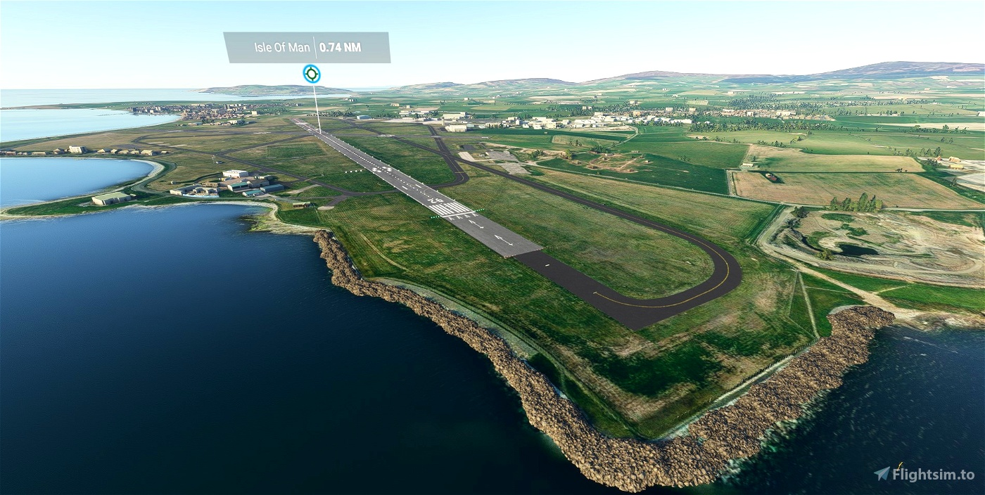 EGNS - Ronaldsway Airport - Isle of Man - Upgrade Flight Simulator 2020