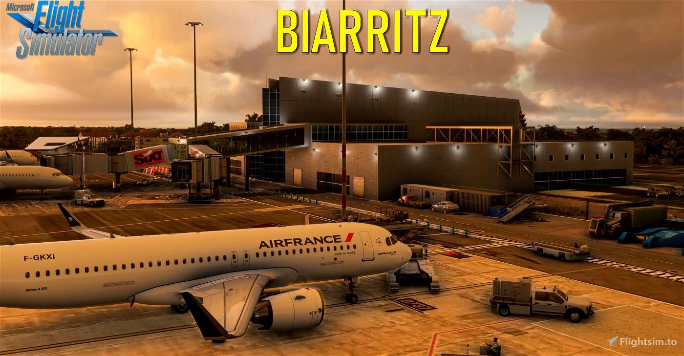 Biarritz Airport [LFBZ] Flight Simulator 2020