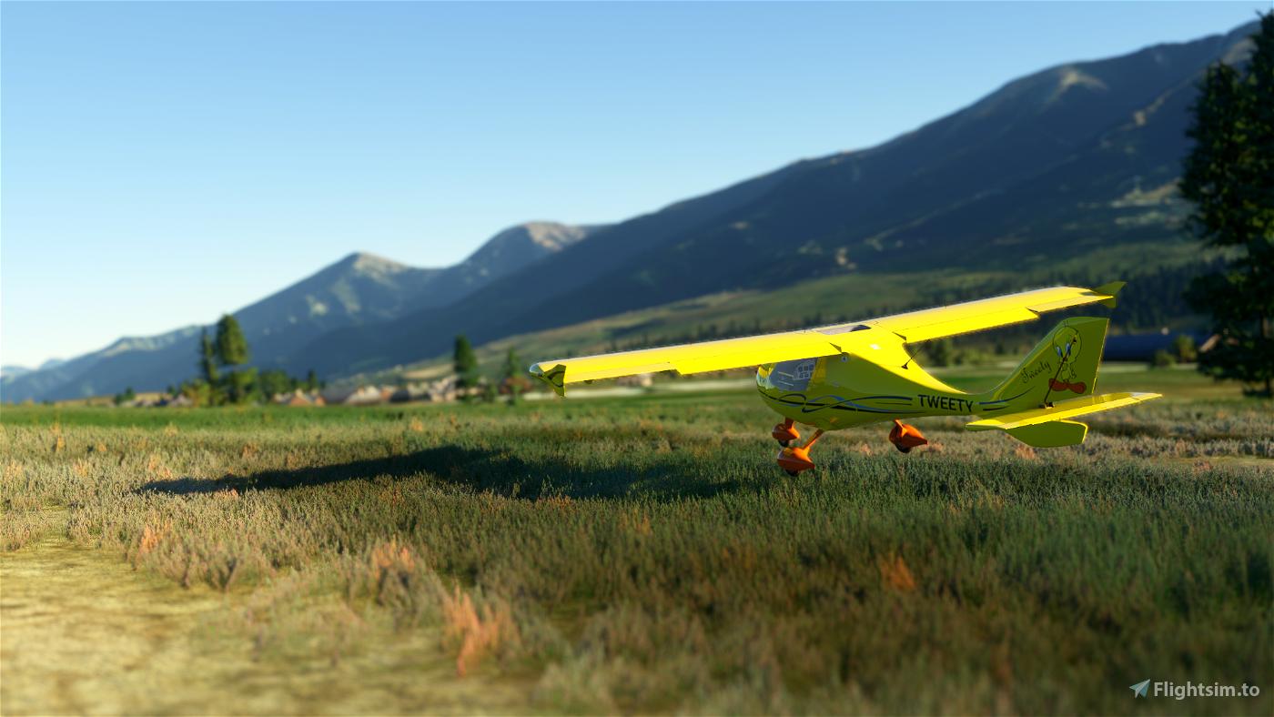 Flight Design CTSL Tweety Flight Simulator 2020