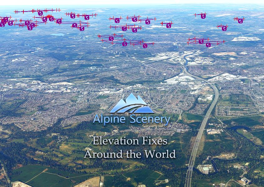 Elevation Fixes - Around the World Flight Simulator 2020