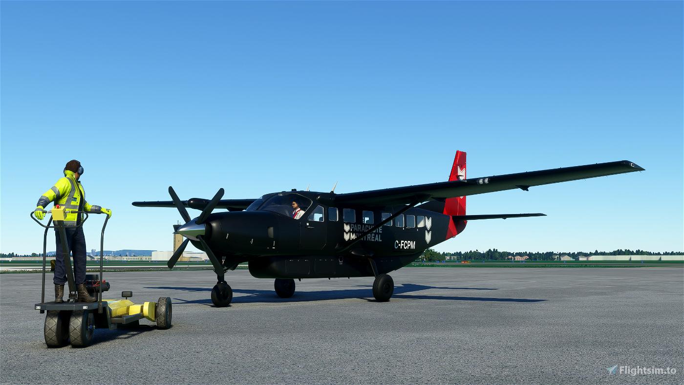 Parachute Montreal Cessna 208b Grand Caravan EX Livery