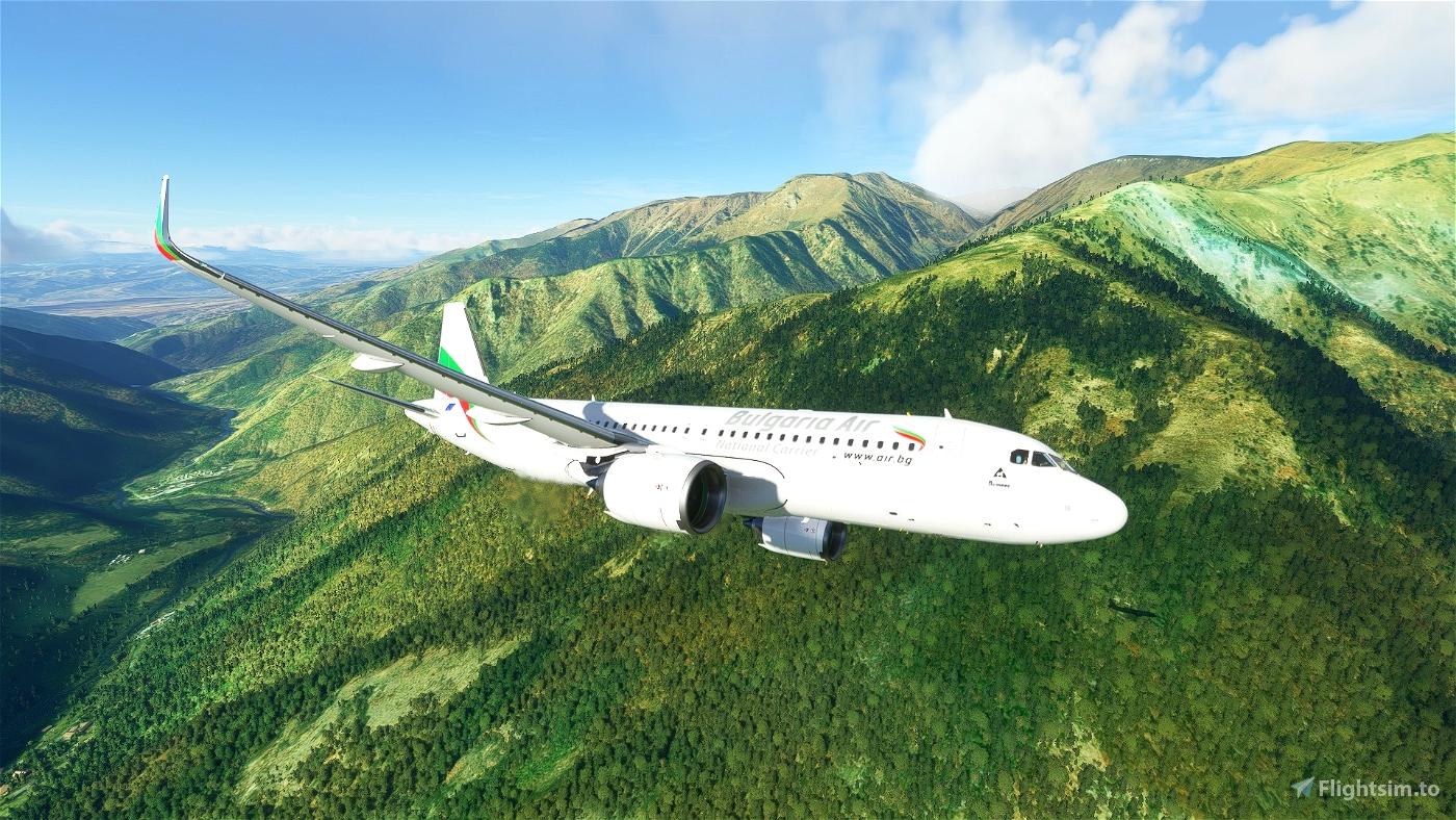 Bulgaria Air - България ер Flight Simulator 2020