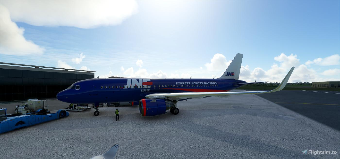 JNE Express Flight Simulator 2020