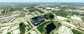 Globe Life Park, Arlington TX USA Image Flight Simulator 2020