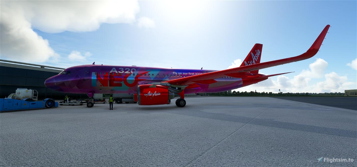 AirAsia Flight Simulator 2020