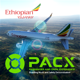 Ethiopian Airlines Boarding Music and Safety Demo Sound Packs Image Flight Simulator 2020