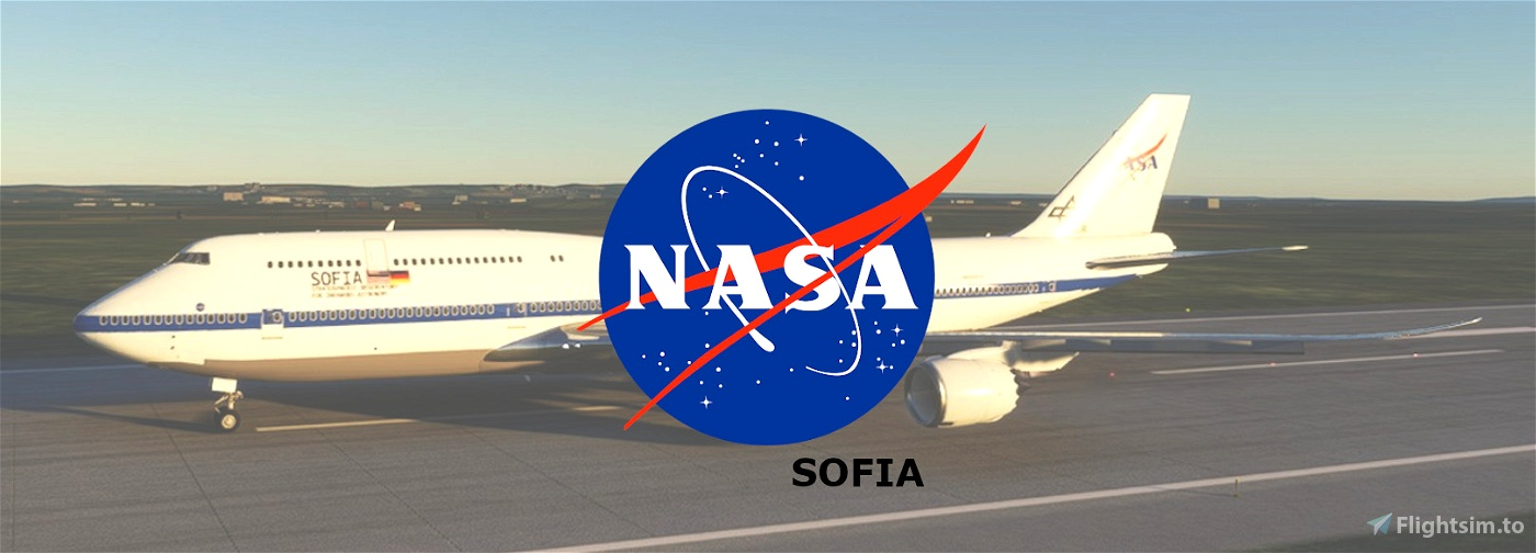 Nasa Sofia 747-8i Flight Simulator 2020