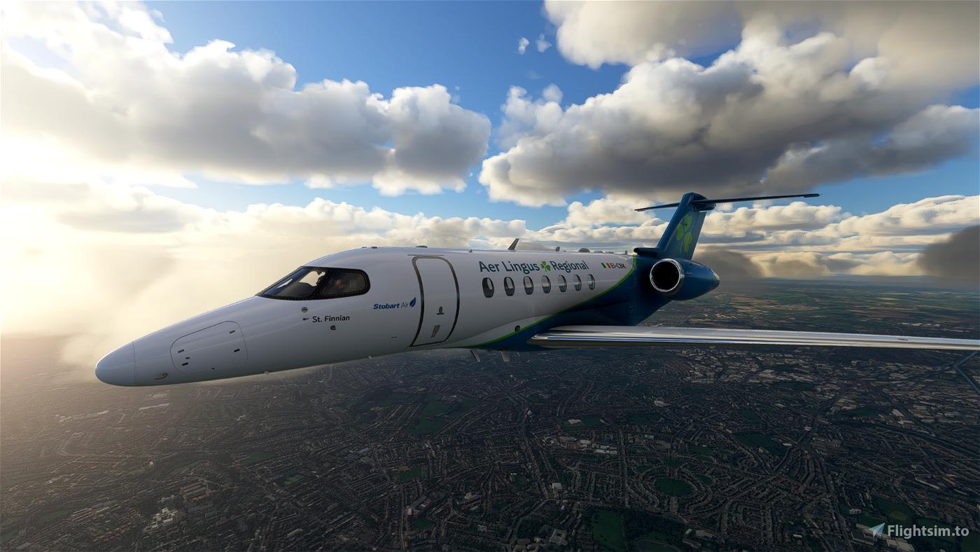 Aer Lingus Regional Cessna Citation Longitude [4k] Flight Simulator 2020