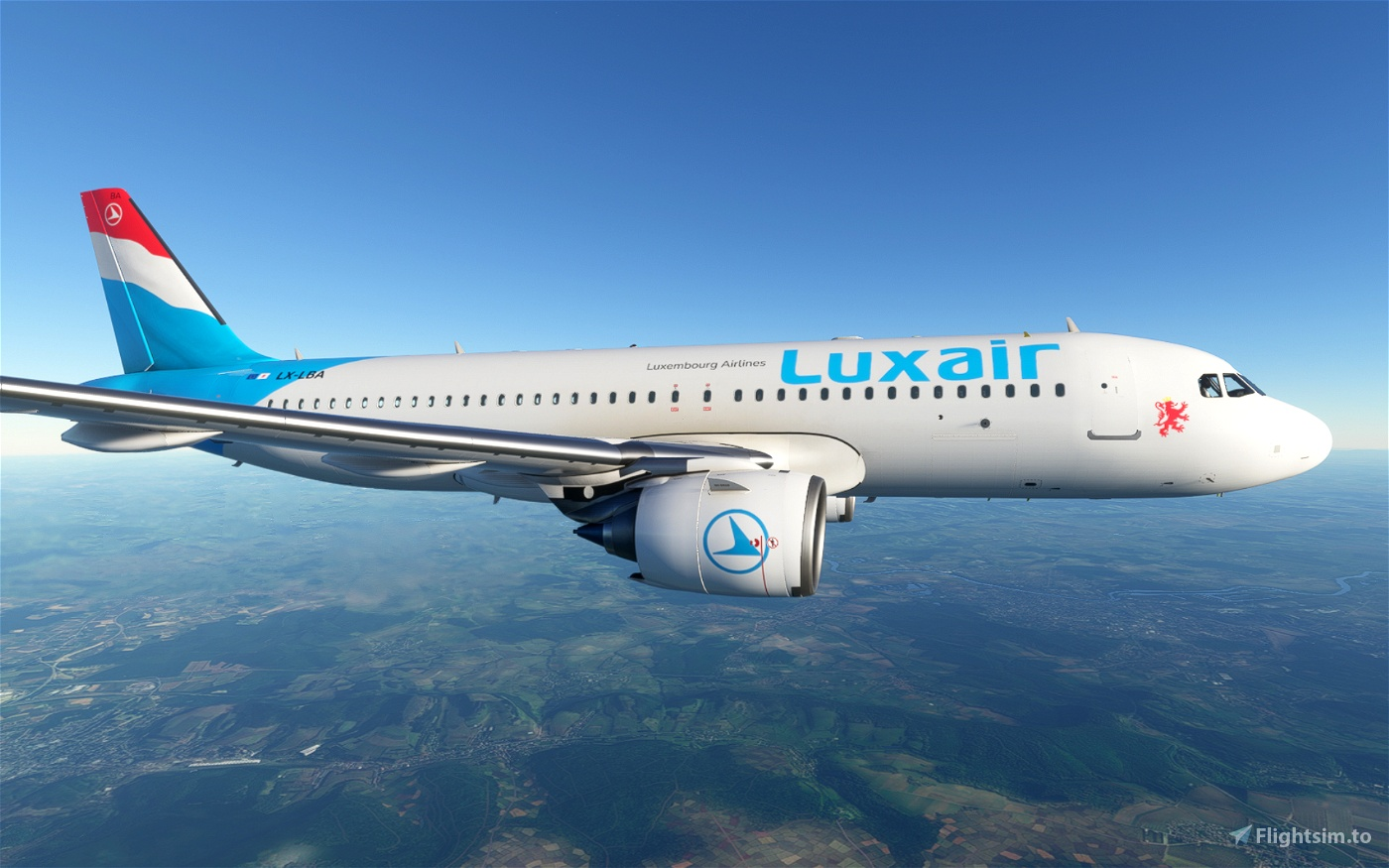 Luxair Flight Simulator 2020
