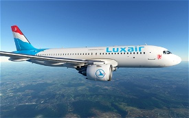Luxair Image Flight Simulator 2020