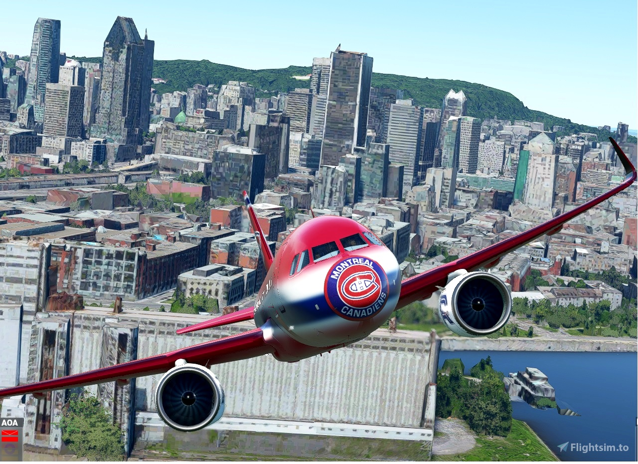 A320Neo Montreal Canadiens Flight Simulator 2020