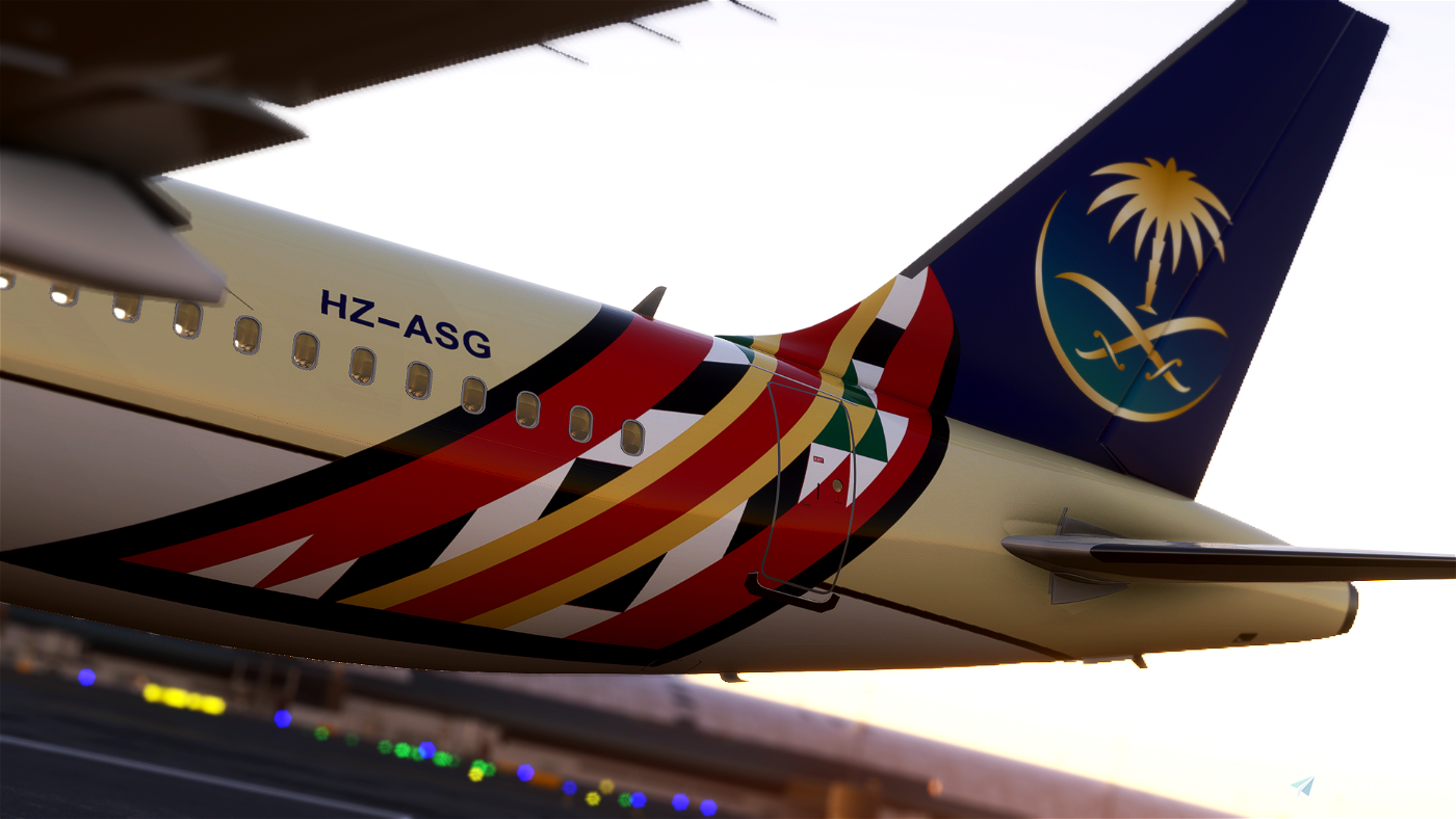 [4K Downscaled] Saudi Arabian Airlines A320neo [G20 Edition]
