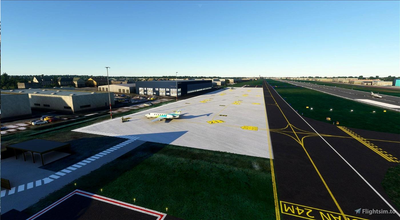 EBKT - Kortrijk-Wevelgem Flight Simulator 2020