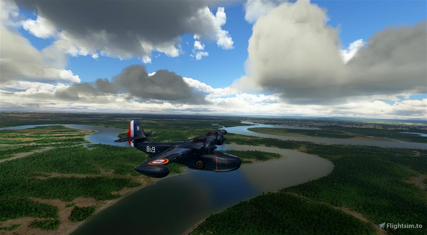 Grumman Goose 8s9 Aeronavale