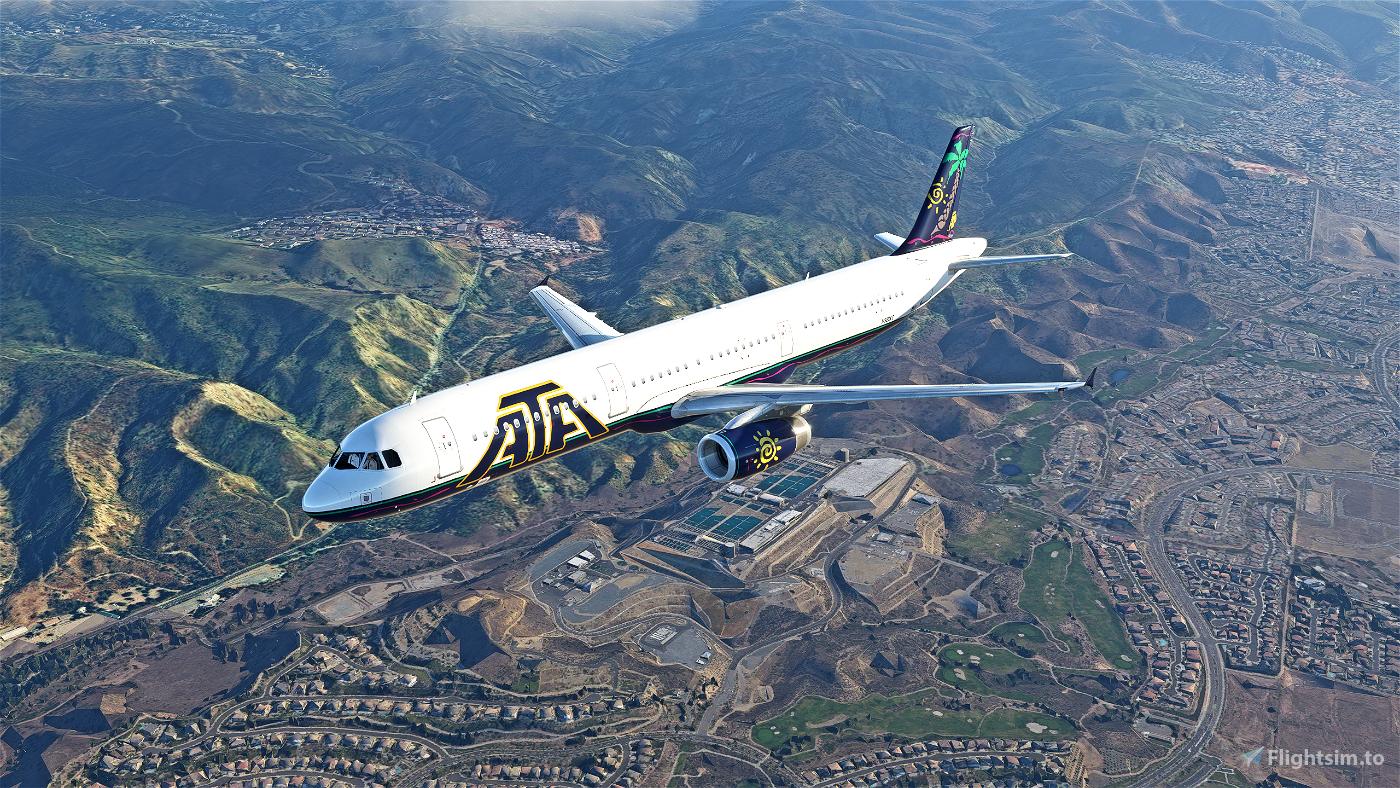 ATA (American Trans Air) A321 Flight Simulator 2020
