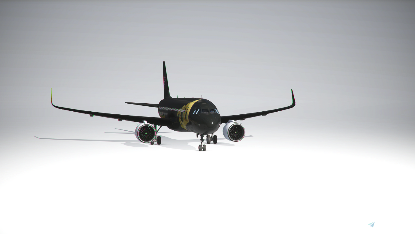 A320 Neo New Year 2021 Livery