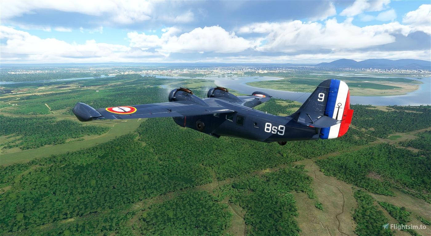 Grumman Goose 8s9 Aeronavale Flight Simulator 2020