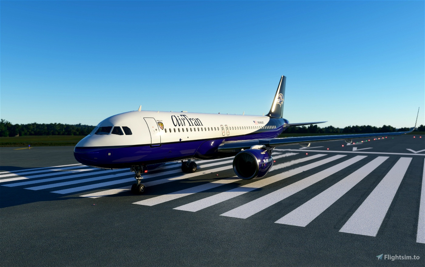 Baltimore Ravens Flight Simulator 2020