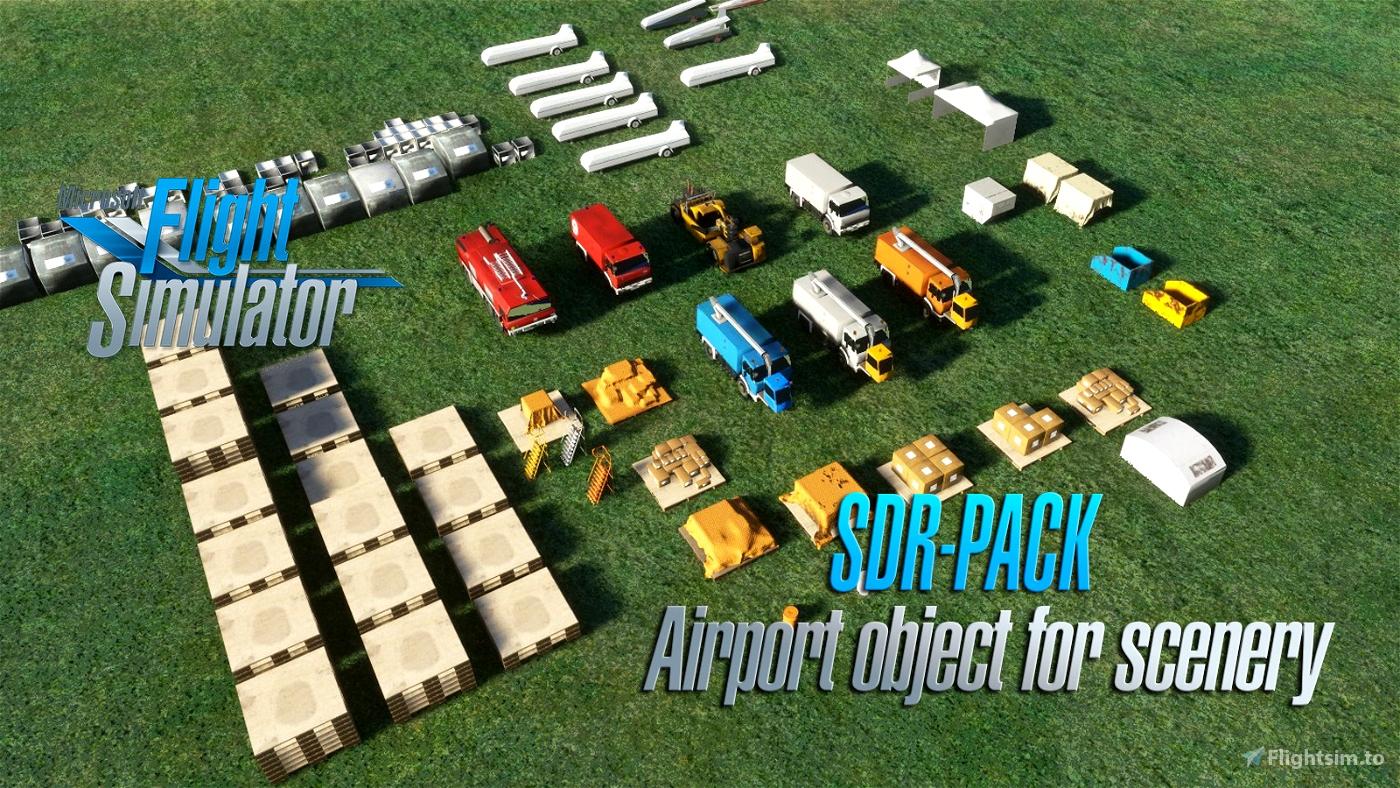 SDR Scenery Pack V1.1 Flight Simulator 2020