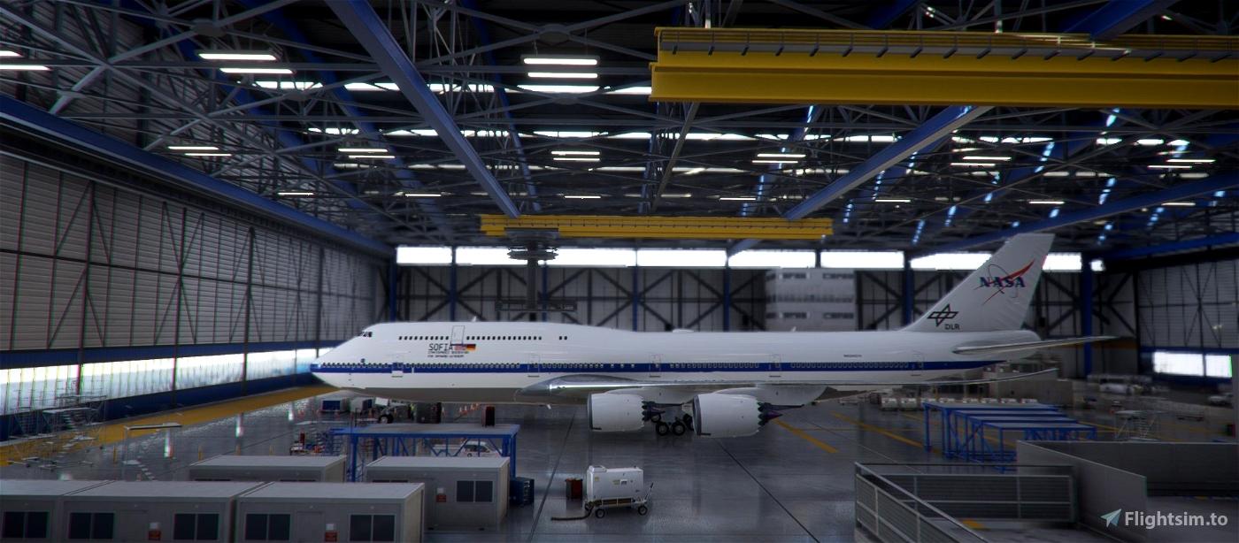 Nasa Sofia 747-8i