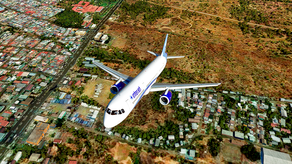 Interjet [4K] Flight Simulator 2020