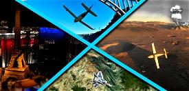 Edwards AFB to Homey: Star Wars Canyon, Vegas and Area 51 Image Flight Simulator 2020