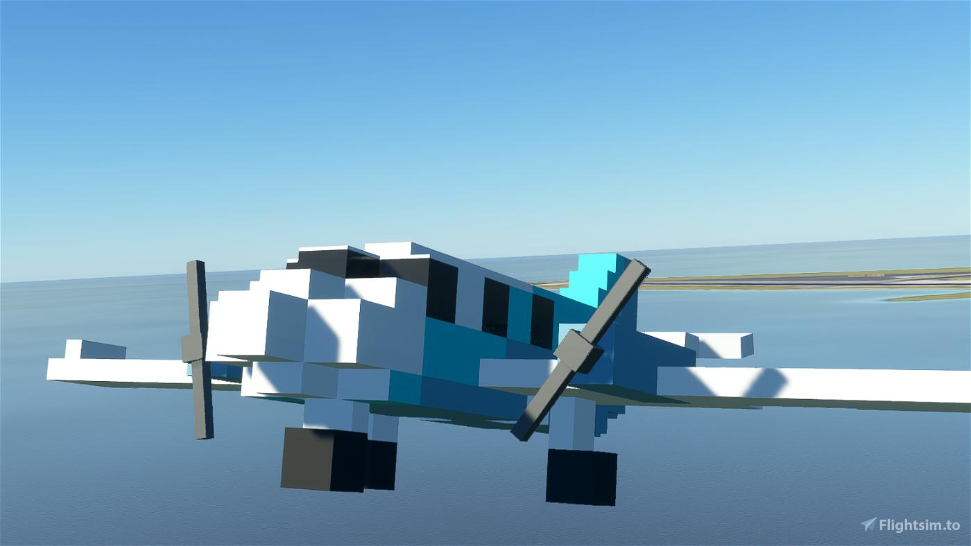 FlyByVoxel MC-16 Flight Simulator 2020