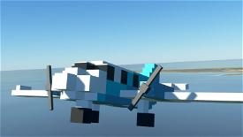 FlyByVoxel MC-16 Image Flight Simulator 2020