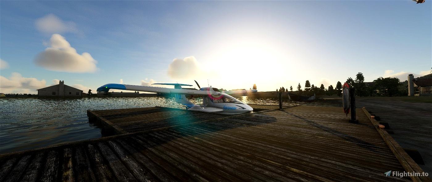 9Z3--Lilly Lake Seaplane Base Flight Simulator 2020
