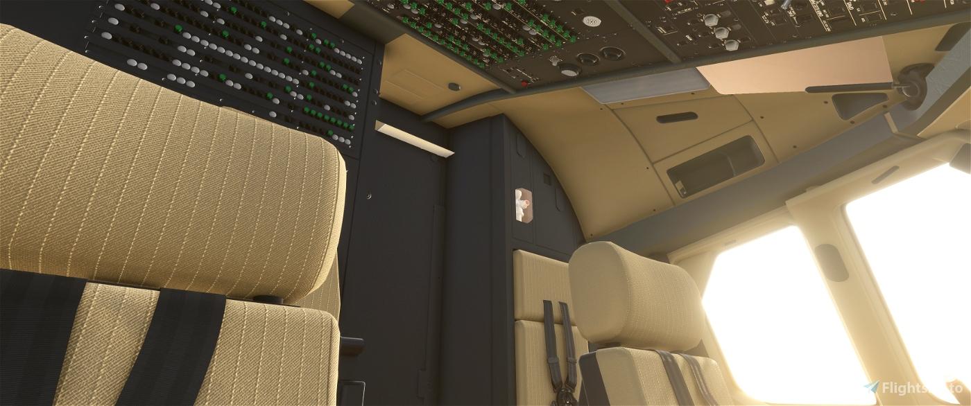 JD Cockpit Livery A320NEO Black/Beige/Beige
