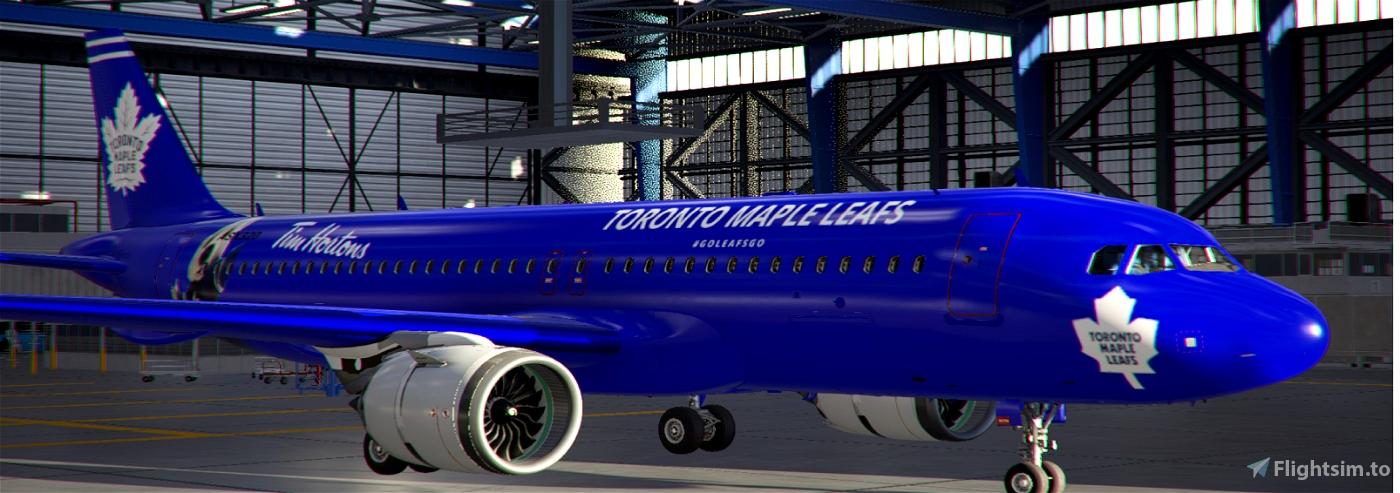 A320Neo Toronto Maple Leafs