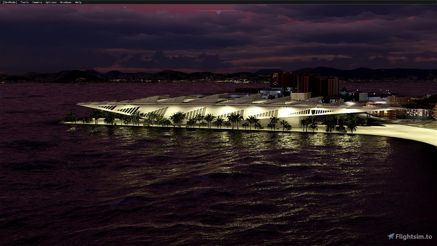 Rio de Janeiro Megapack Cidade Flight Simulator 2020
