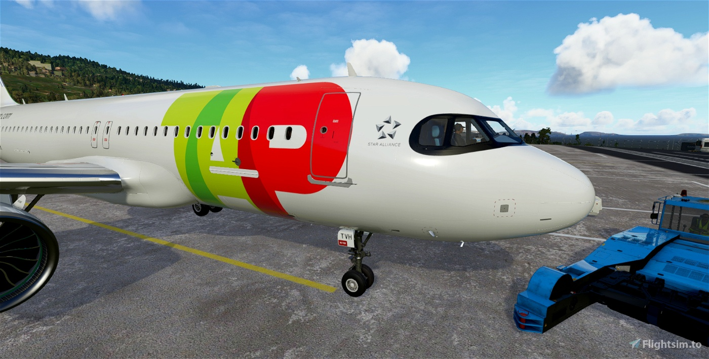 TAP Air Portugal A320neo CS-TVH