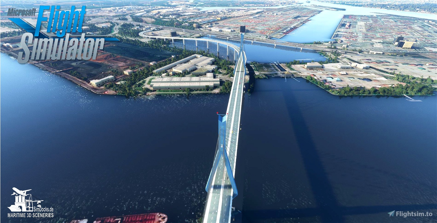 Köhlbrand Bridge - Hamburg