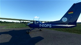 Cessna 152  livery - Plop - D-EOPS (Version 2) Image Flight Simulator 2020