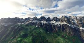 Churfirsten (Mountain Range) Switzerland Image Flight Simulator 2020