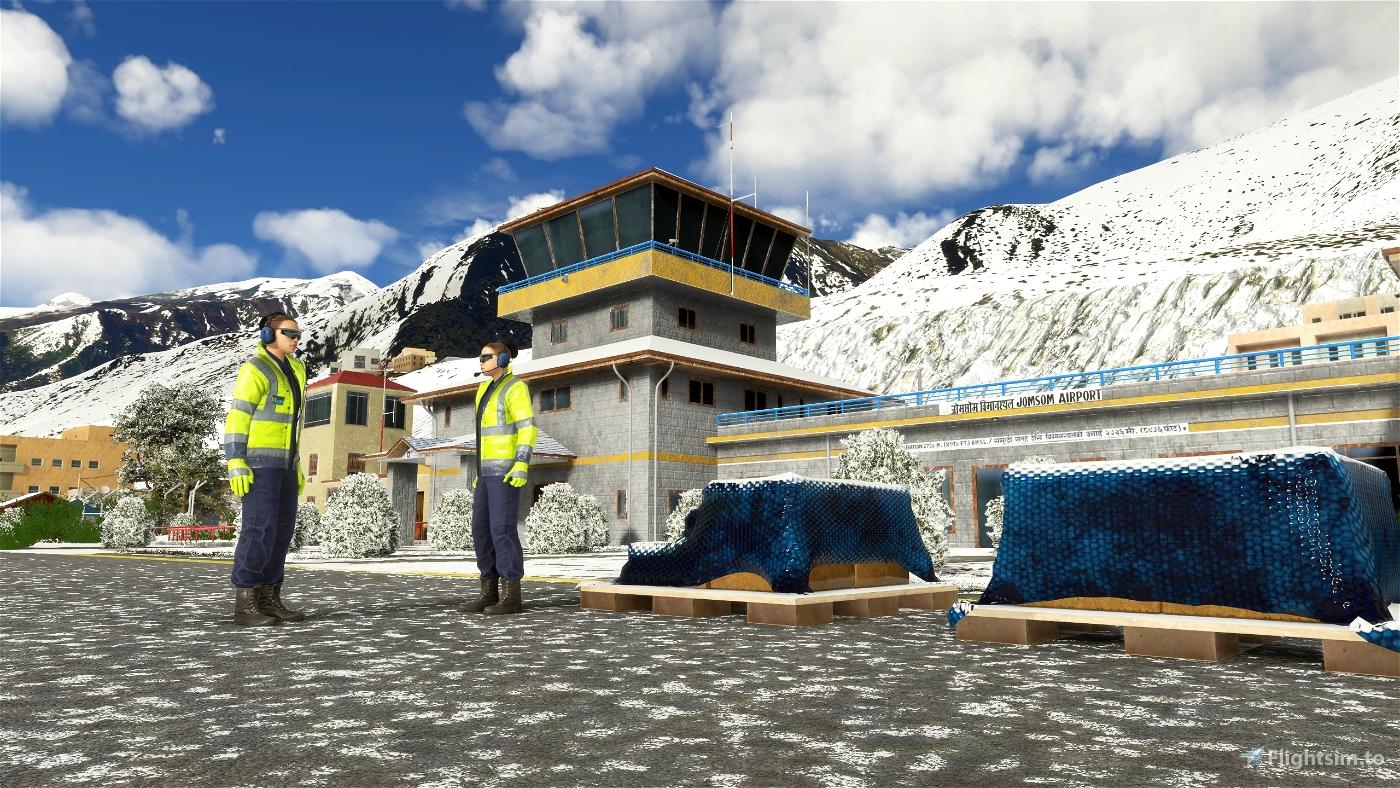 Jomsom Airport VNJS (Nepal) V1.3
