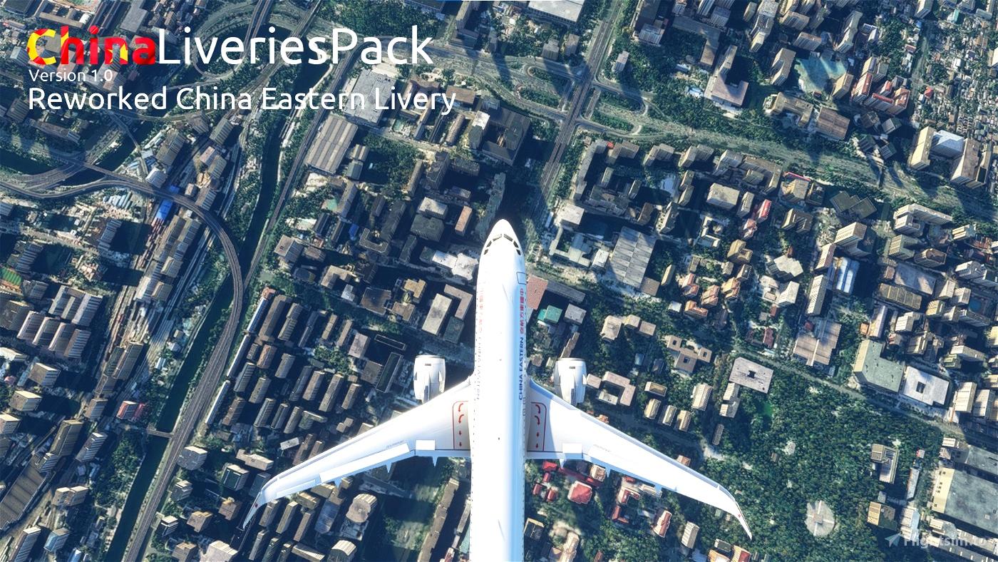 MFS China Livery Pack V1.0