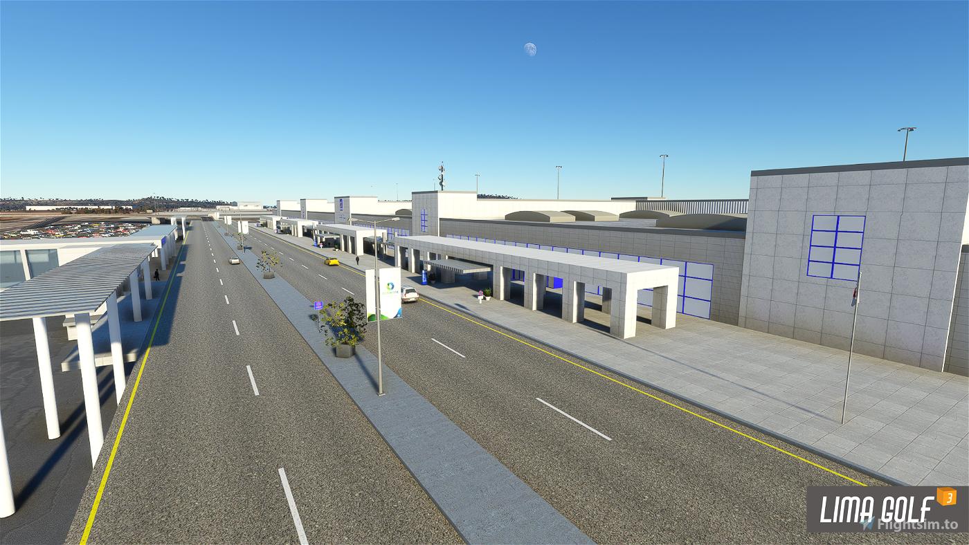 Athens Intl. Airport Eleftherios Venizelos (LGAV) Scenery