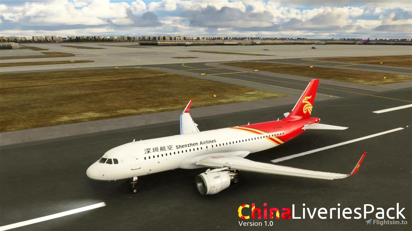 MFS China Livery Pack V1.0 Flight Simulator 2020