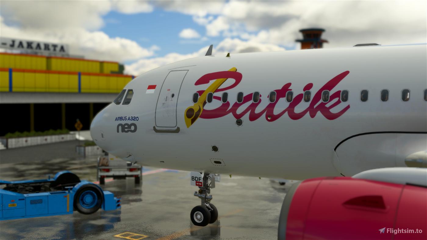 Batik Air 8K (PK-BDF)  Flight Simulator 2020