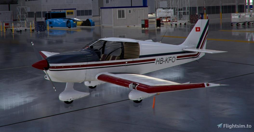 Robin DR400 HB-KFO Flight Simulator 2020