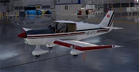 Robin DR400 HB-KFO Image Flight Simulator 2020